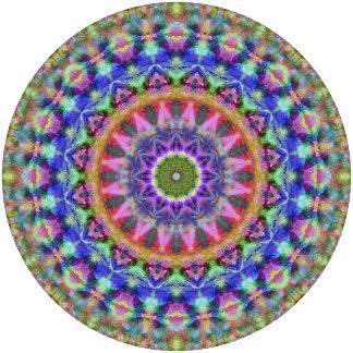 Rainbow Paint Mandala