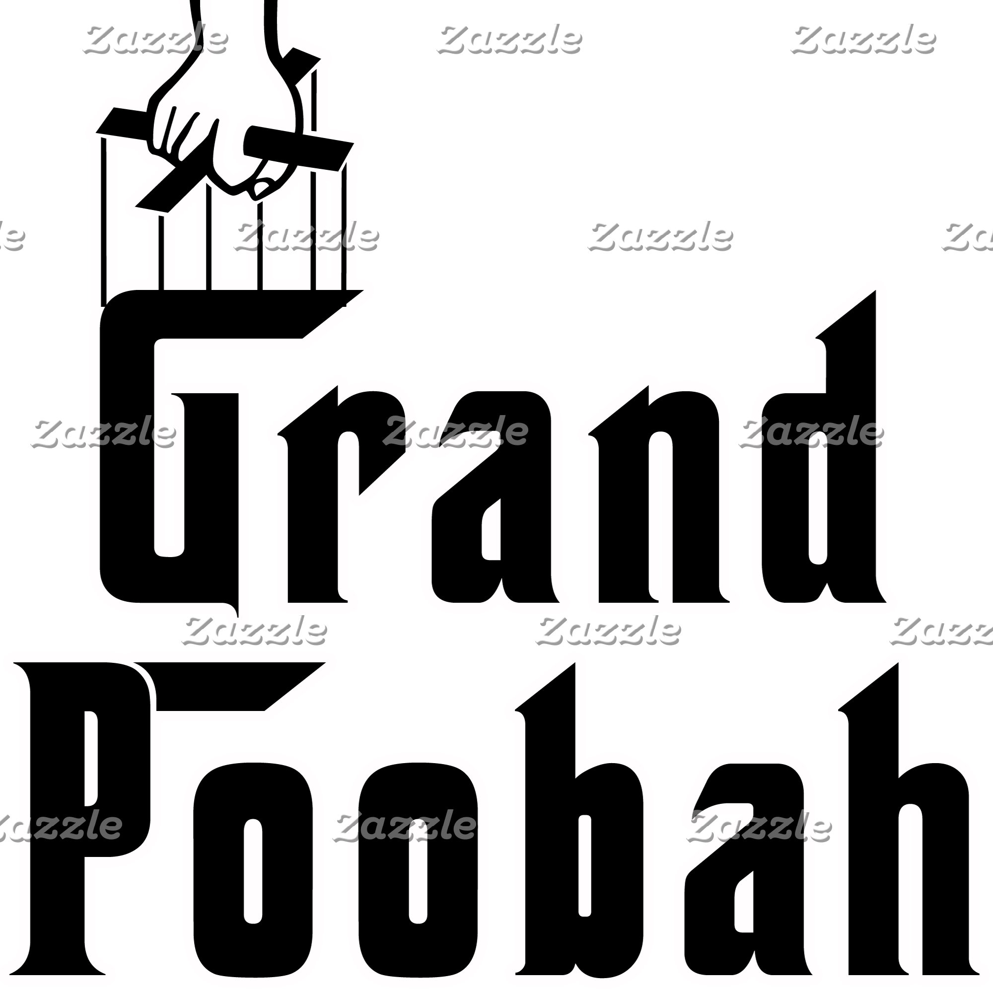 The Grand Poobah in Godfather Font