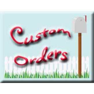 Z-Custom Orders
