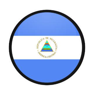 Nicaragua quality Flag Circle