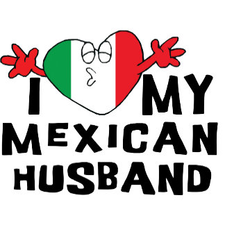 I Love My Mexican Husband T-Shirt Gift Cards