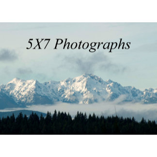 5X7 Photographs