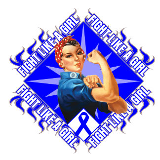 Rectal Cancer Fight Rosie The Riveter