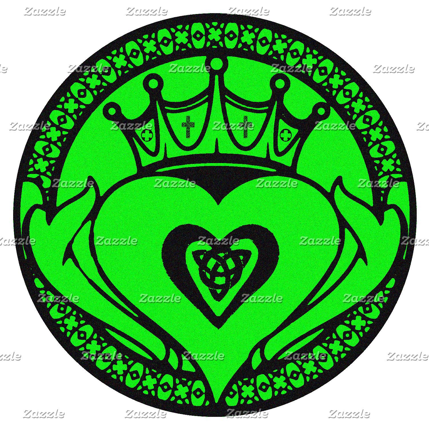 Green Claddagh