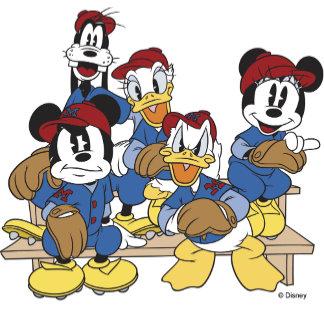 Mickey Mouse Baseball Team