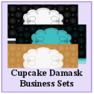 Cupcake Damask