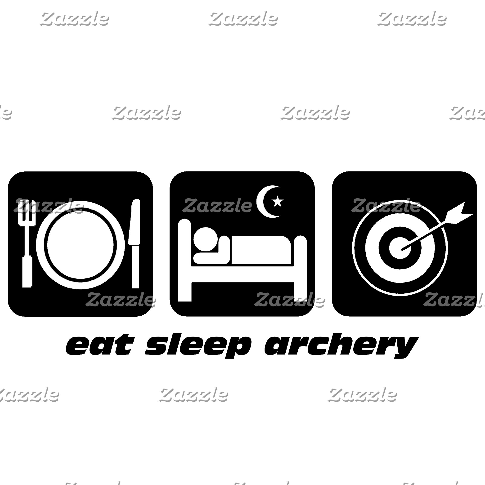 eat sleep archery