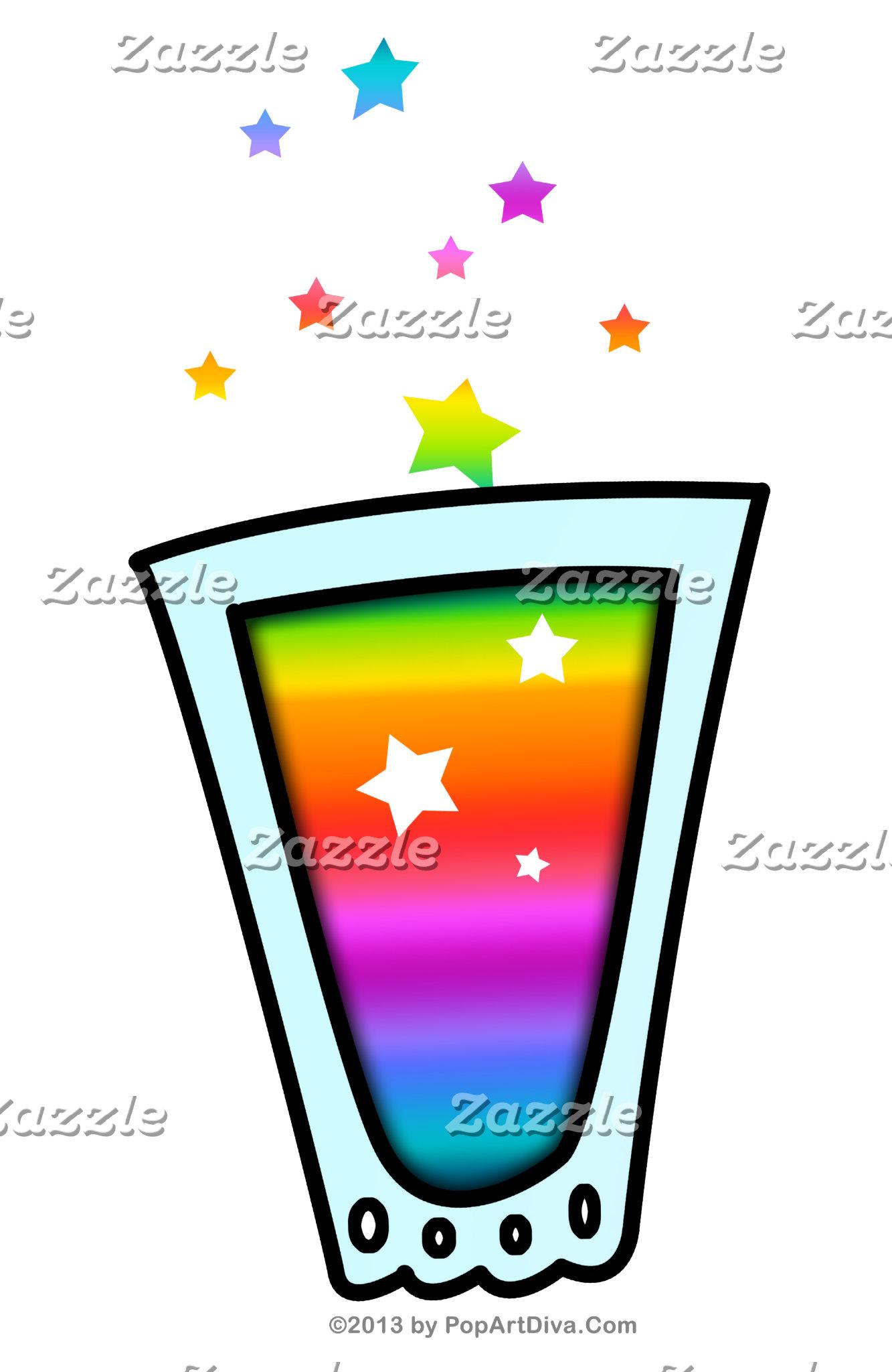 av. SHOTZ! Rainbow Shot Glass