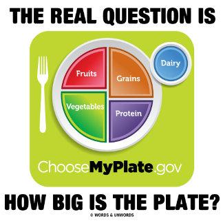 MyPlate (Diet / Nutrition Humor)