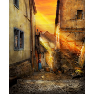 City - Germany - Alley - The farmers wife 1904