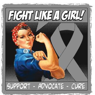 Brain Tumor Rosie Riveter - Fight Like a Girl