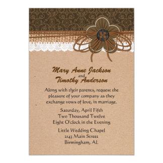 Rustic Craft Look Wedding Products