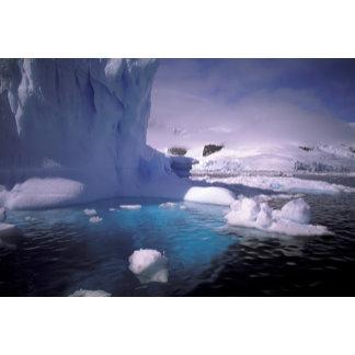 Antarctica. Antarctic icescapes