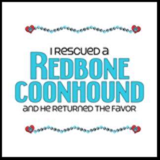 I Rescued a Redbone Coonhound (Male Dog)