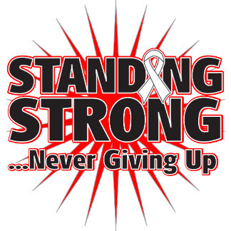 Lung cancer Standing Strong