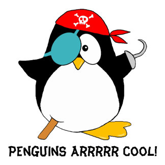 Penguins Are Cool Pirate Penguin Product Gifts
