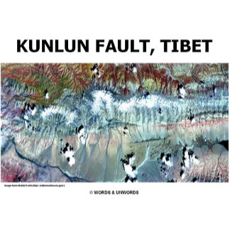 Kunlun Fault Tibet