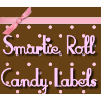 Smartie Candy Favors