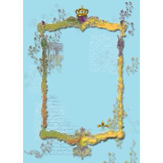 L'arc de Triomphe Rococo Frame & Crown