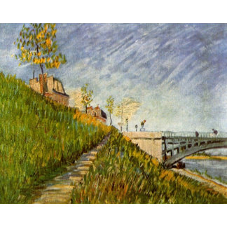 Banks of the Seine with the Pont de Clichy