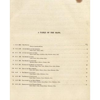 Historical Atlas Index 1828 AD