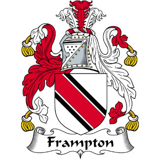 Frampton Family Crest / Coat of Arms