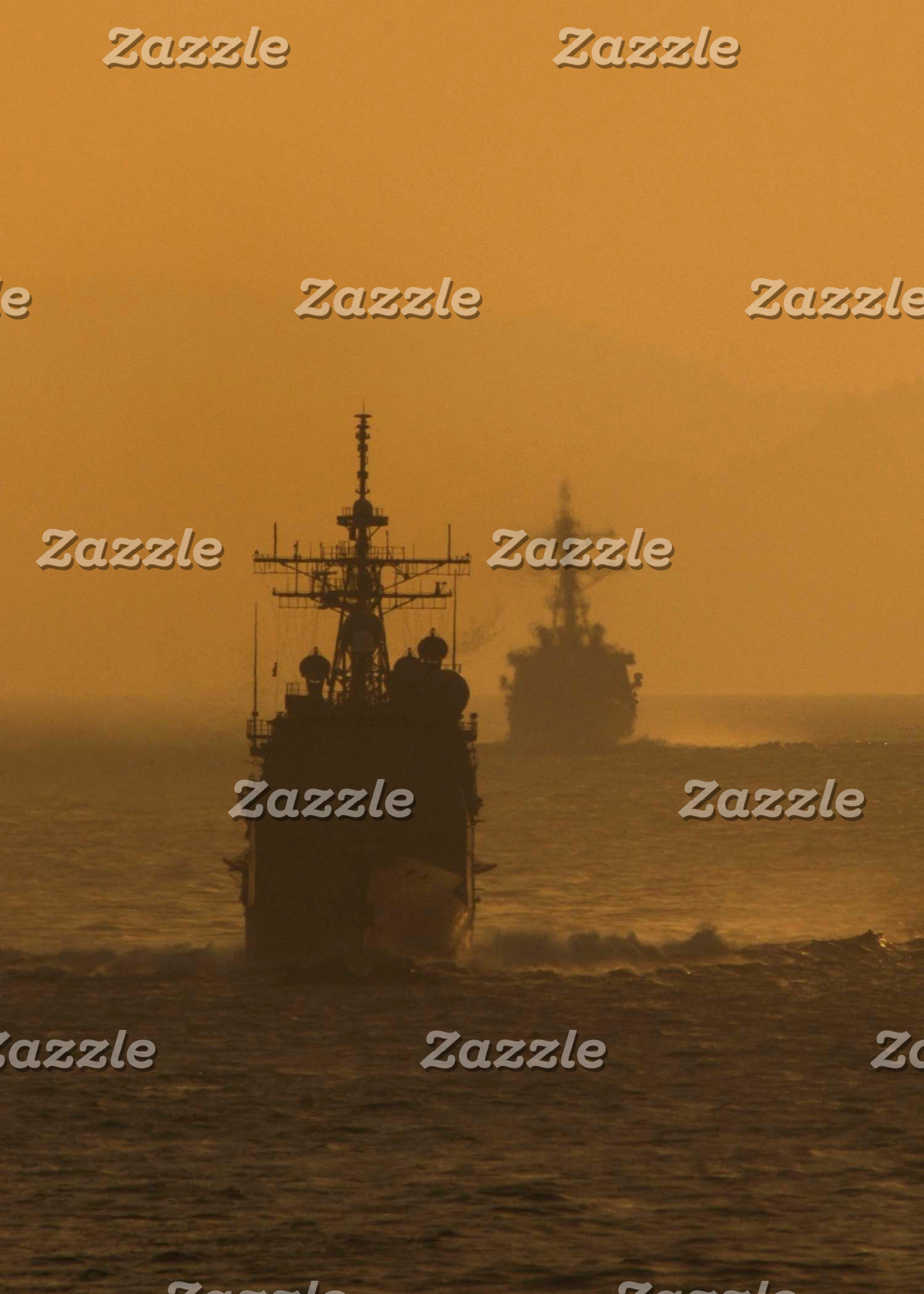 Navy ships.