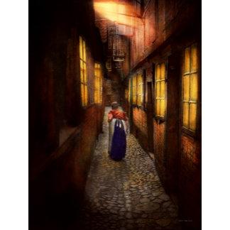 City - Germany - Alley - A long hard life 1904