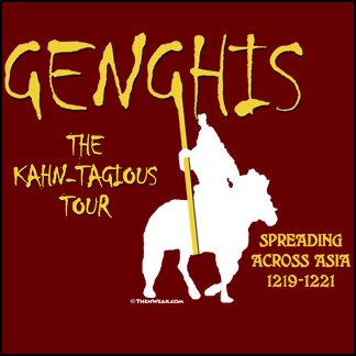 Genghis Kahn 1219 Kahn-tagious Tour