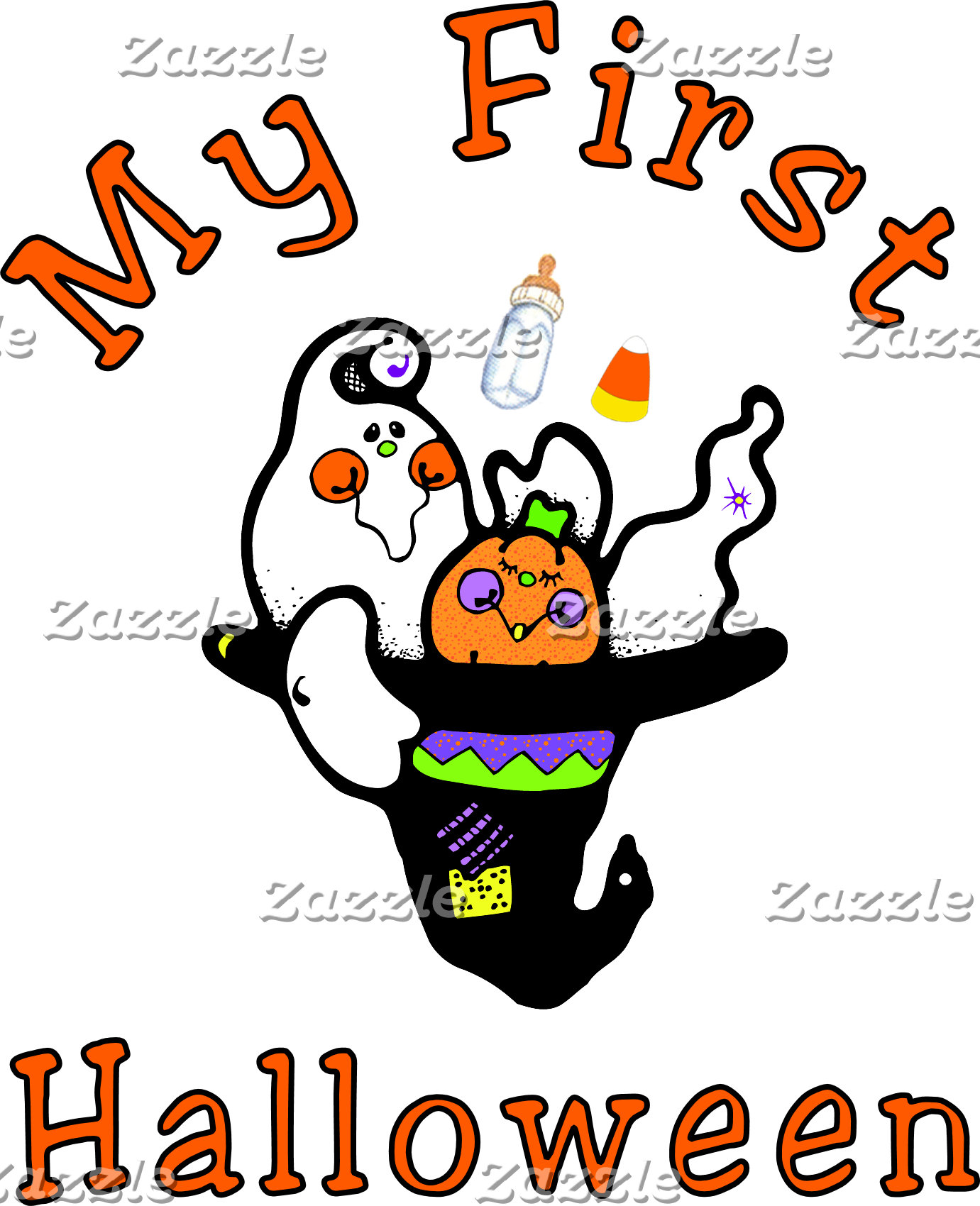 My First Halloween Baby Apparel