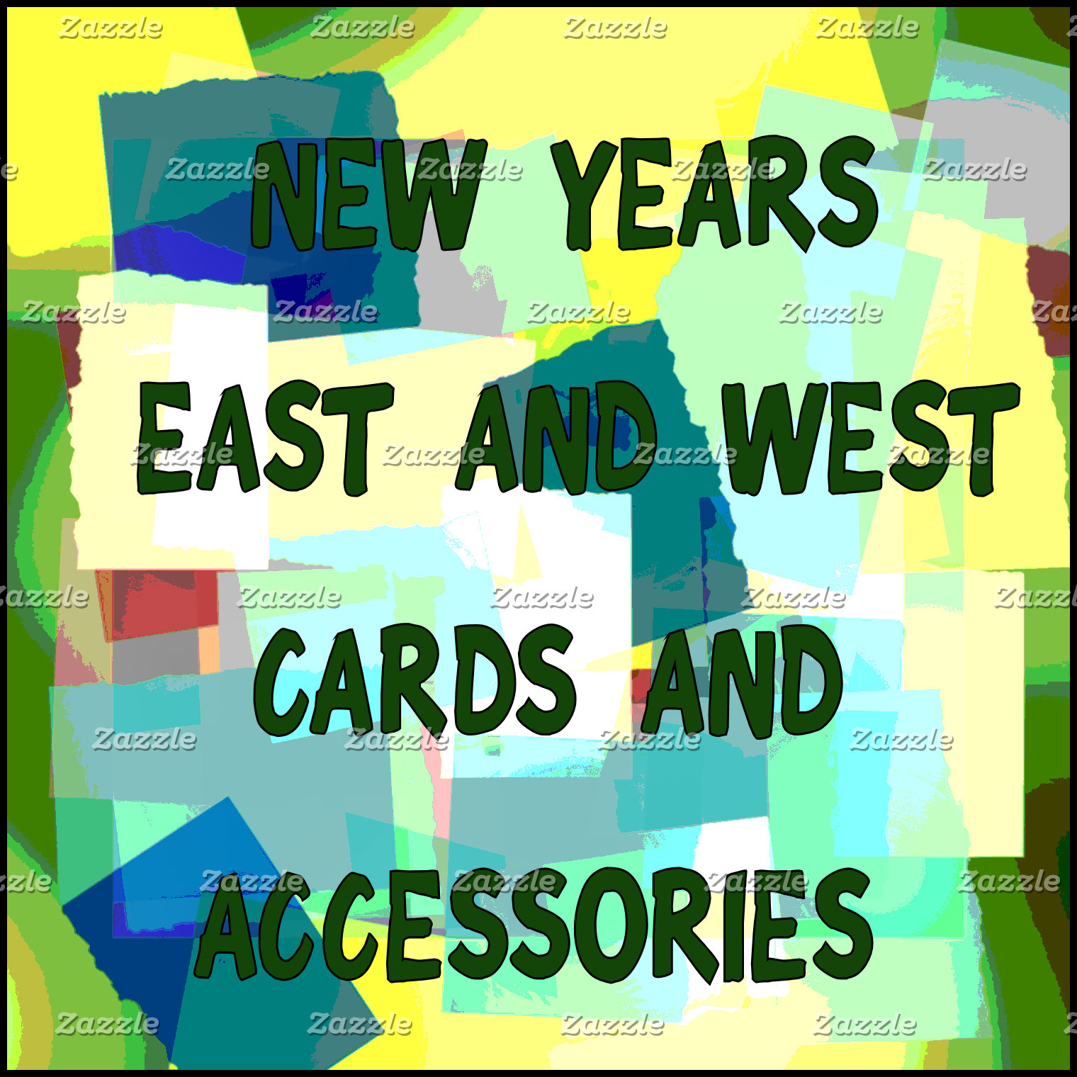 NEW YEARS CARDS AND ACCESSORIES