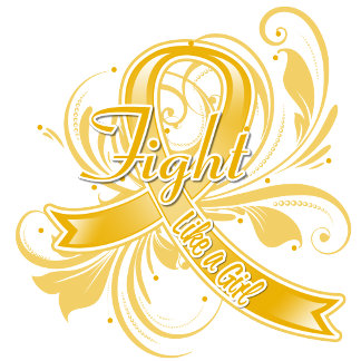 Appendix Cancer Fight Like a Girl Flourish