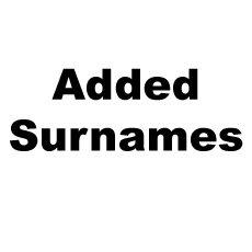 Added Surnames