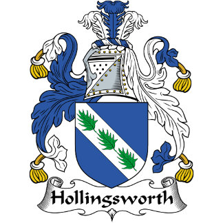 Hollingsworth Family Crest