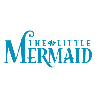 The Little Mermaid Blue Logo