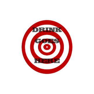Target Bullseye Drink Coasters