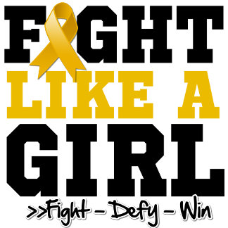 Appendix Cancer Sporty Fight Like a Girl