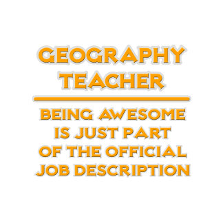 Geography Teacher .. Job Description