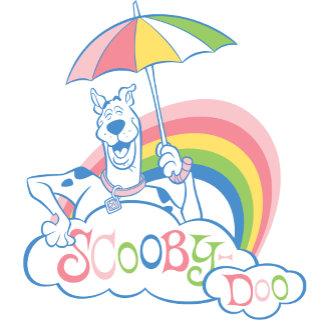 Scooby Holding Umbrella