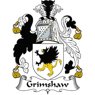 Grimshaw Family Crest / Coat of Arms