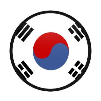 South Korea quality Flag Circle