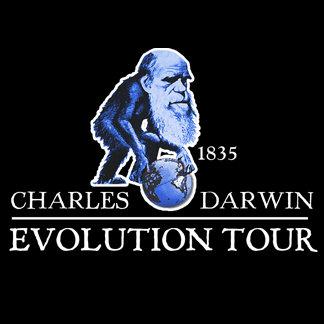Charles Darwin 1835 Evolution Tour