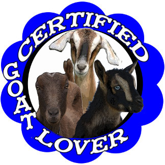 CERTIFIED GOAT LOVER!