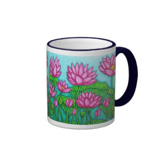 Funky Floral Mugs