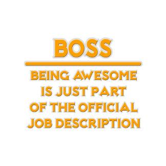 Awesome Boss .. Official Job Description