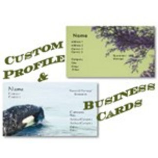Business Cards/Profile Cards