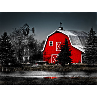 Spectacular Red Barn