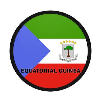 Equatorial Guinea Roundel quality Flag
