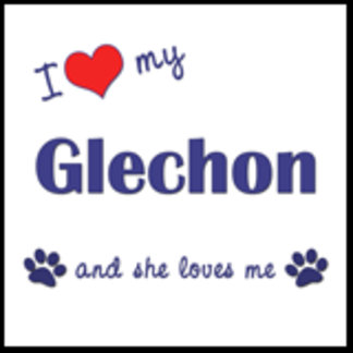 I Love My Glechon (Female Dog)