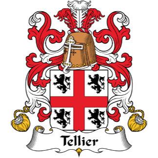 Tellier Family Crest